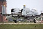 A10 (and bunny) - RAF Mildenhall May 2009 (3552575802).jpg