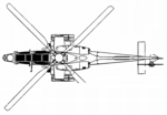 A129 Mangusta heavily armed vector drawing top.png