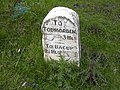 A681 Bacup Todmorden Road Mileage Stone - geograph.org.uk - 450836.jpg