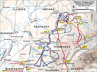 Confederate Heartland Offensive military campaign during the American Civil War
