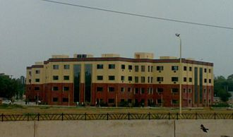 Ambedkar Institute of Advanced Communication Technologies and Research - AIACTR Delhi (distant view)