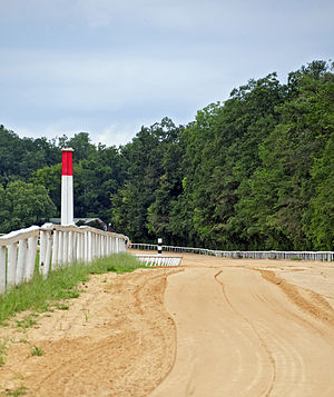 National Register of Historic Places listings in Aiken County, South Carolina - Image: A Iken Training Track