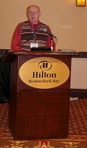 William Sims Bainbridge - Award ceremony for William Sims Bainbridge held by the CITASA section of ASA. 2008 in Boston.