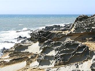 Cape Sebastian State Scenic Corridor - Rock formations at Cape Sebastian