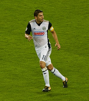 Alejandro Bedoya - Playing for Philadelphia Union in 2017