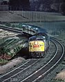 A Four Shot Sequence of a Canadian ALCo and Train (35086220036).jpg