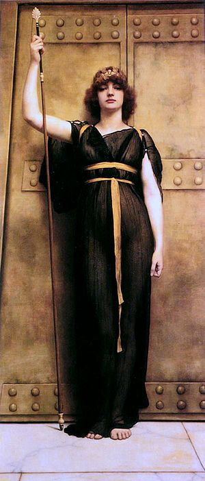 1894 in art - Image: A Priestess by Godward