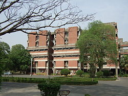 IIT Kanpur in the outskirts of city