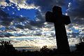 A cross is seen at Arlington National Cemetery in Arlington, Va., Nov. 2, 2013 131102-G-ZX620-006.jpg
