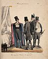 A group of fashionable physicians gathered around a sick patient Wellcome V0011720.jpg