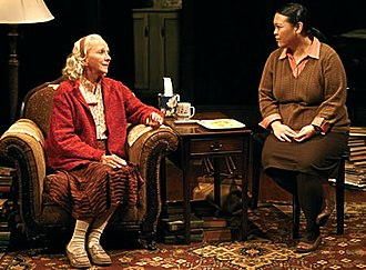Vineyard Theatre - A scene from Vineyard Theatre's production of Julia Cho's The Piano Teacher.