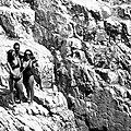 A selfie of three girls on the rocks (29166662030).jpg