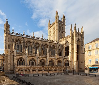Bath Abbey Church in United Kingdom