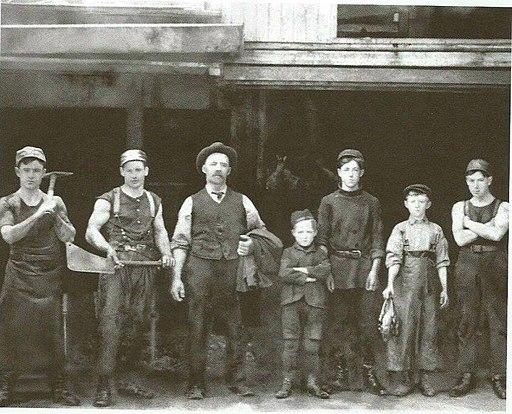 Abattoirs Lecavalier et Riel - Saint-Henri 1890