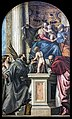 Accademia - Madonna col Bambino e i Santi Giuseppe, Giustina, Francesco, Giovanni Battista fanciullo e Girolamo by Veronese.jpg