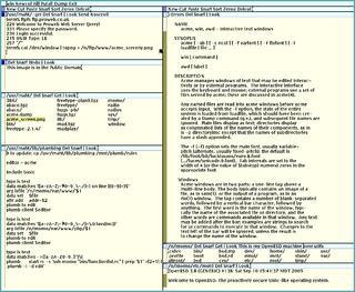 Acme (text editor) text editor