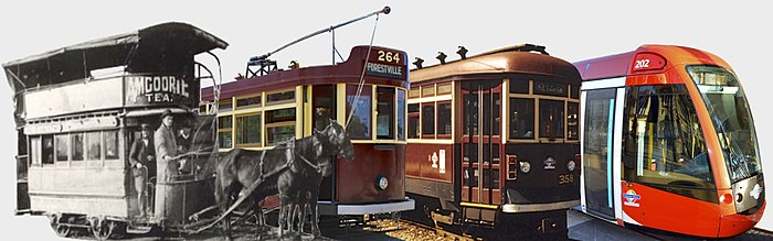 Adelaide trams of the four main eras -- montage, cropped tight.jpg