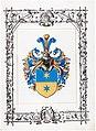 Adelsdiplom - Münzer von Münzbruck 1913 - Wappen.jpg
