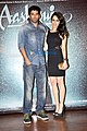 Aditya Roy Kapur & Shraddha Kapoor during success bash of Aashiqui 2 at Escobar.jpg