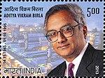 Aditya Vikram Birla 2013 stamp of India.jpg