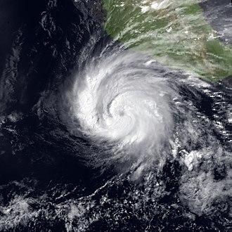 1983 Pacific hurricane season - Image: Adolph 23 May 1983