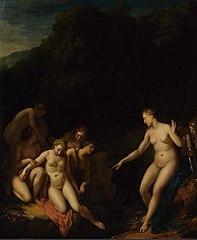 Diana Discovers Callisto's Slip
