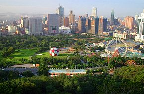 Aerial view of Dalian, China.JPG