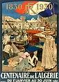 Affiche Centenaire de l'Algérie, 1930.jpg