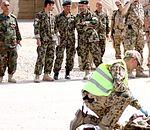 Afghan National Army doctors and medics observe simulated MASCAL 110503-N-RJ303-079.jpg