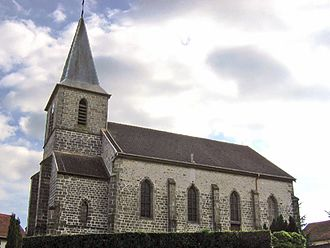 Ainvelle, Vosges - The church in Ainvelle