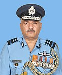 Air Marshal Raghunath Nambiar taking charge as the Air Officer Commanding-in-Chief, Eastern Air Command of Indian Air Force, in New Delhi on October 01, 2018.jpg