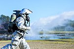 Aircraft mishap exercise tests JBLE, local response capabilities 140725-F-KB808-007.jpg