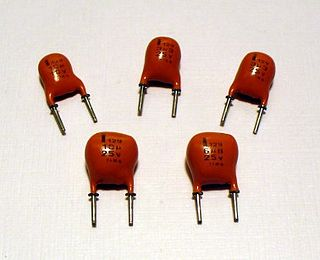 SAL electrolytic capacitor