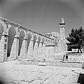 Al Haram esh-Sharif - Tempelberg. Minaret en zuilengalerij, Bestanddeelnr 255-5417.jpg