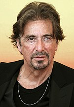 Photo of Al Pacino attending the Venice Film Festival in 2004.