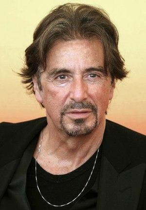 Al Pacino attending the Venice Film Festival i...