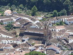 Skyline of Alájar