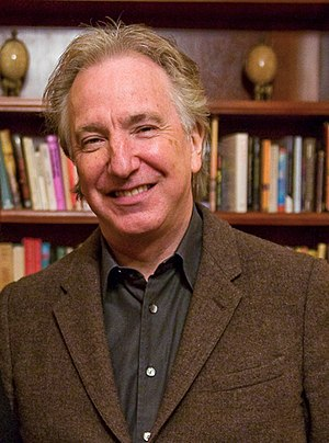 English: Alan Rickman at a Hudson Union Societ...
