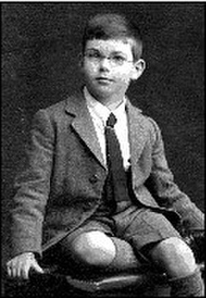 Alan Watts - Alan Watts, age 7