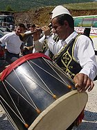 Albanian drummer