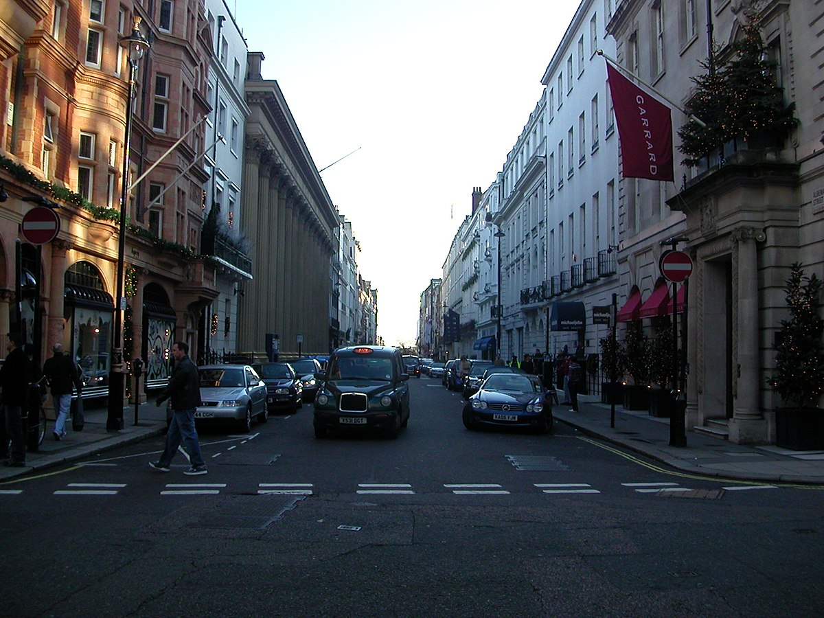 Albemarle street wikipedia for Quartiere mayfair londra