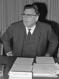 Albert Coppé Belgian politician