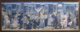 Le Départ des poilus, août 1914