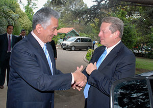 Alberto Rodríguez Saá - Image: Alberto Rodríguez Saá y Al Gore Argentina