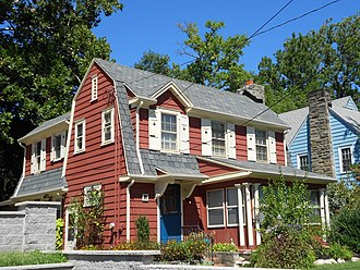 National Register of Historic Places listings in Delaware County, Pennsylvania - Image: Albertson 85 Stewart Del Co PA