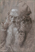 Albrecht Dürer - Head of an Old Man, 1521 - Google Art Project.jpg