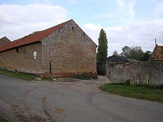 Aldeby Priory - Abbey Farm, Aldeby, Norfolk - site of Aldeby Priory