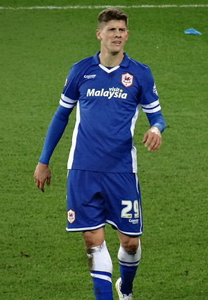 Alex Revell - Revell playing for Cardiff City in 2015