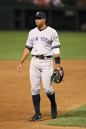Alex Rodriguez - Rodriguez moved to third base after he was traded to the Yankees in 2004.