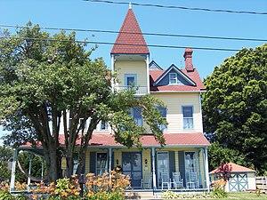 Bell House (Colonial Beach, Virginia) - Bell House, June 2012